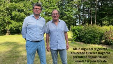 Photo of ALAIN RIGUIDEL, NOUVEAU PRÉSIDENT DE L'ASSOCIATION